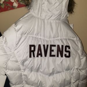 Womens White Puff Jacket